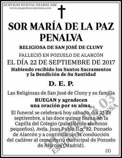 María de la Paz Penalva